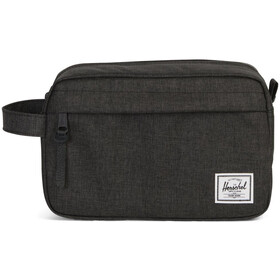 Herschel Chapter Travel Kit Black Crosshatch